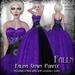 Falln Falina Gown Purple