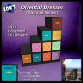 Lok's Oriental Dresser / Jewelry Box