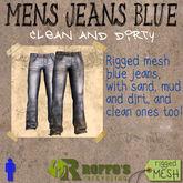 Mens Jeans Blue