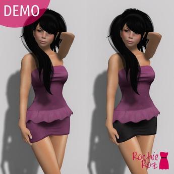 Rochie Roz - Emily Dress DEMO (Mesh)