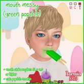 ~* Larnia Kids *~ mouth messy (green popsicle)