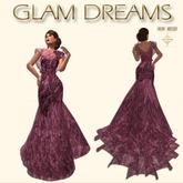 Glam Dreams Romance Gown ( Lavanda )