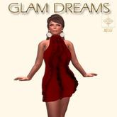 * 75% OFF !!! - Glam Dreams Volantes Cocktail Dress (Sangre)