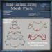 Bead Garland Mesh Pack, Christmas Holiday Builders Decoration Kit, Mesh & Textures Full Perm