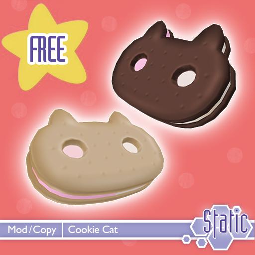 ::Static:: Cookie Cat FREEBIE