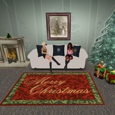 Christmas Rug - Merry Christmas