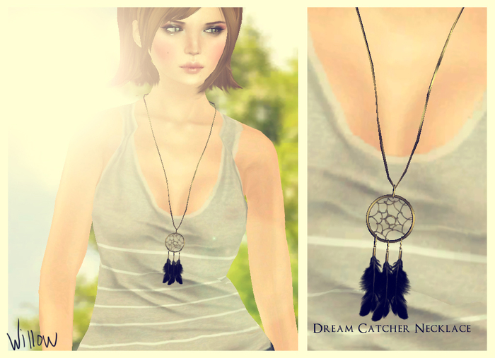 Willow~ Dream Catcher Necklace