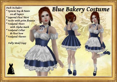 *LBD* Blue Bakery Costume