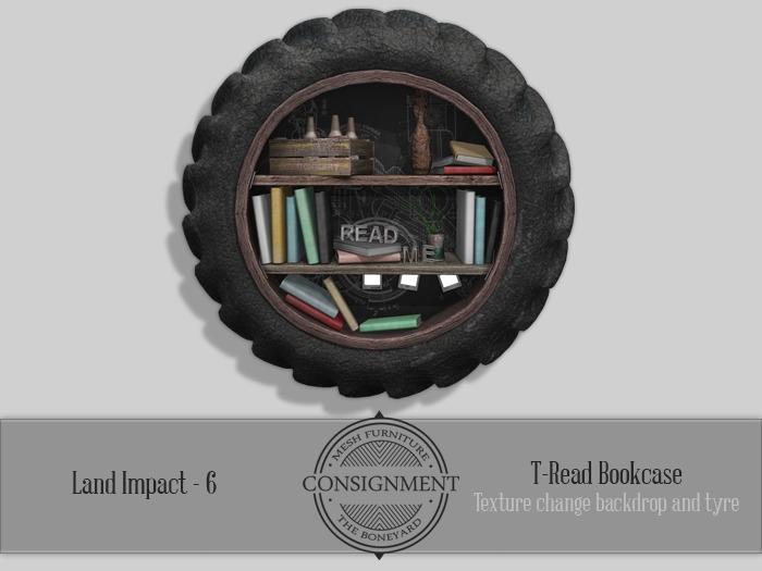 [Con.] T-Read Bookshelf