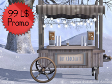 99L PROMO! Hot Chocolate Stand