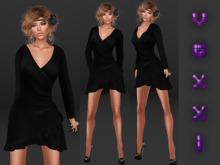 .::voxxi::. [Mira] Wrap Dress Black