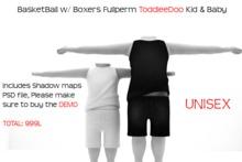 ToddleeDoo Basketball W/ Boxers FULLPERM DEMO