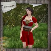 .: Serene.M :.  Ruth Dress _Red