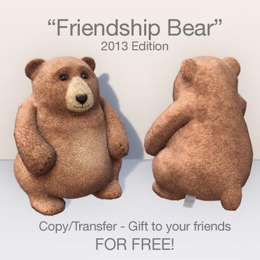 "FREE - ""Friendship Bear"" 2013 Edition v3"