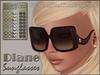 ArisArisB&W Pour Femme - DIANE Sunglasses - MESH