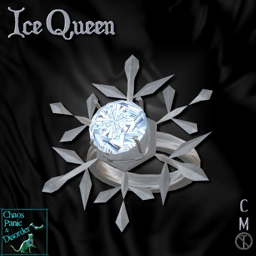 :*:CPD:*:  Ice Queen Simple Ring