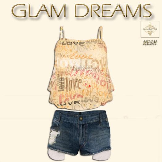 * 35% OFF !!! -Glam Dreams Gabriela Love Pant Set