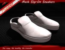 ~Pepper Slip On Sneakers *White*