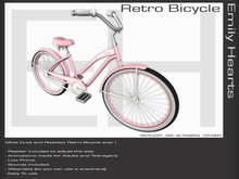 [EmilyHearts] - Retro Bicycle Deluxe Mesh - Pink [PROMO !!!!] [ONLY 75$ !!!!!!]