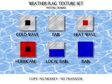 MD Weather Flag Texture Set