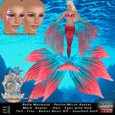 Bella Petite Mermaid Complete Avatar Pink *Limited Price Offer*