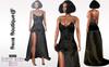 Bens Boutique - Samara Gown Dress Black