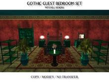 MD Gothic Guest Bedroom Set BOXED