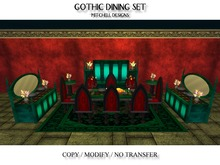 MD Gothic Dining Set