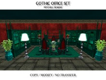 MD Gothic Office Set