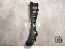 ISON - lace-up gladiator sandals (demo)