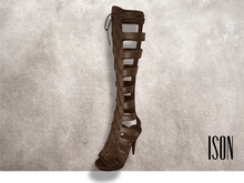ISON - lace-up gladiator sandals (tan)