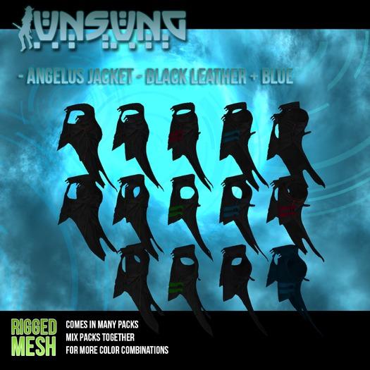 Unsung - Angelus Jacket - Black Variations Pack