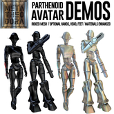 MetaTheodora Parthenoid Avatars - DEMOS