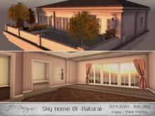 ::JP Design:: Sky Home 01 - Natural 32x32