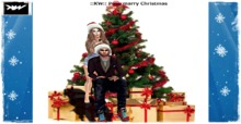 ::KW:: Pose marry Christmas