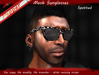 ~Pepper~Spotted Sunglasses (Mesh)