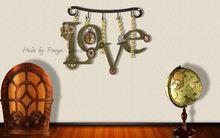 Steampunk Love Wall Decor