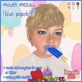 ~* Larnia Kids *~ mouth messy (blue popsicle)