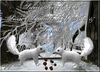 ~*SR*~ Static Snow Squirrels with Nuts & Sounds Box