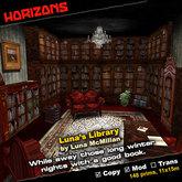 HORIZONS Scene - Luna's Library