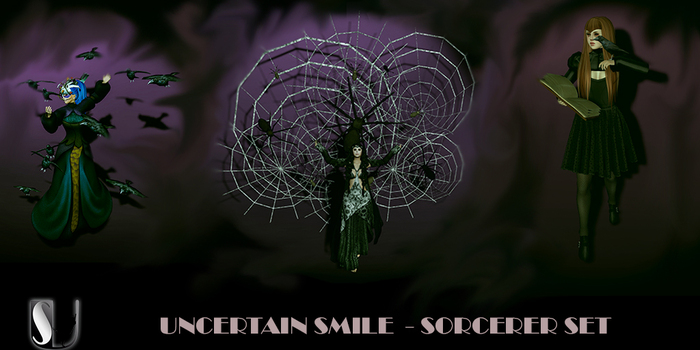UNCERTAIN SMILE SORCERER SET - WEAR ME