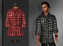 """""""DEW"""" OUTLET/ red tartan shirt"""