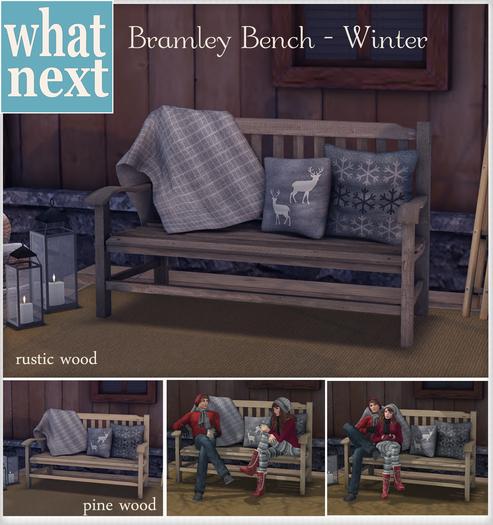 {what next) Bramley Bench - Winter