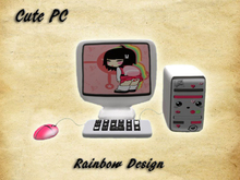 Cute PC - Rainbow