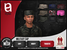 (epia) - Military Cap