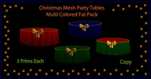 Christmas Mesh Table (Fatpack)