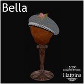 Hatpins - Bella Beret - Grey