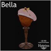 Hatpins - Bella Beret - Pink