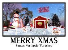 Christmas , Santas Magic Workshop .