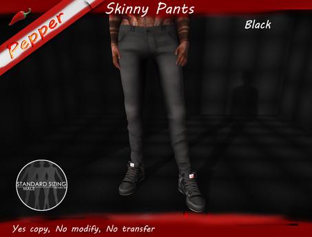 ~Pepper~Skinny Pants *Black*